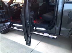 Jason S. verified customer review of 2015 - 2020 Premier Lighted LED Door Sill Light Kit