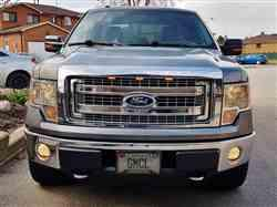 Gordon F. verified customer review of Ford F150 2009-14 F150 Raptor Style Extreme Amber LED grill Kit