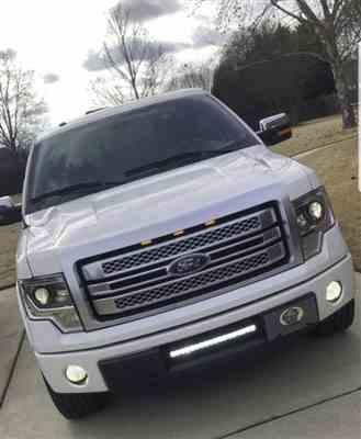 Trey D. verified customer review of Ford F150 2009-14 F150 Raptor Style Extreme Amber LED grill Kit