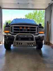john a. verified customer review of Ford F150 2009-14 F150 Raptor Style Extreme Amber LED grill Kit