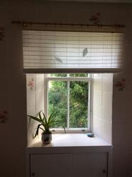 Anonymous verified customer review of East Roll Up Roller Blind Natural Leaf 120 x 160cm