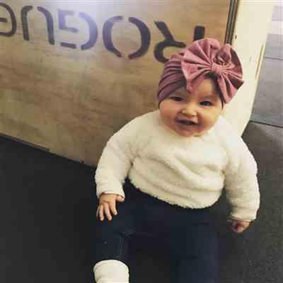 Marissa Gentry verified customer review of Belle Turban Bow