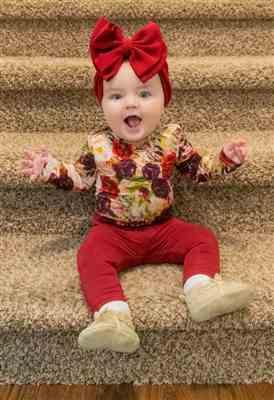 Meredith Browand verified customer review of Gracie Floral Long Sleeve Bodysuit