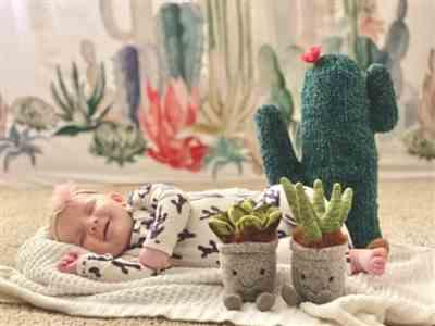 Rebecca Londo verified customer review of Jackson Cacti Romper