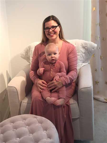 Posh Peanut Blush Rose Ribbed Long Sleeve Maxi Dress Review