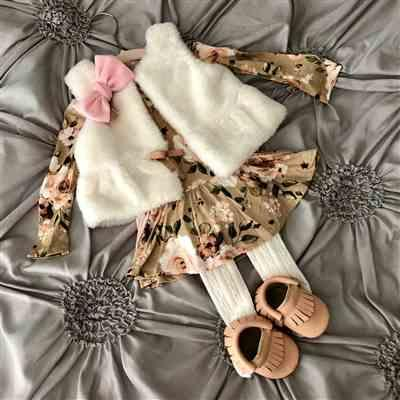 Lauren Young verified customer review of Sienna Floral Long Sleeve Twirl Skirt Bodysuit