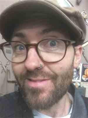 Luke sebastian Vickers verified customer review of Tangled Silver Septum or Nose Ring