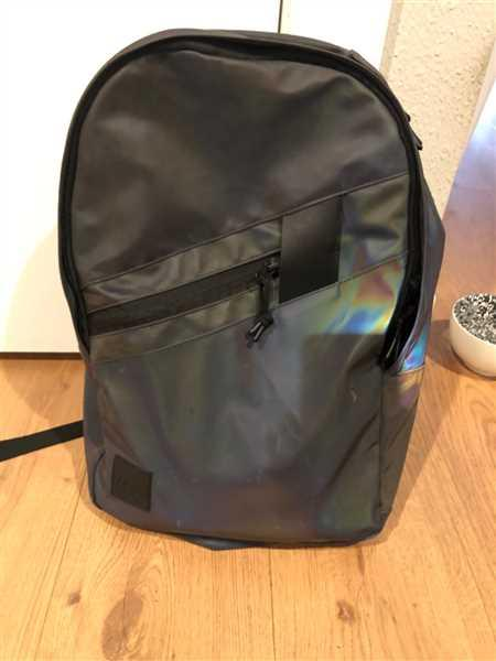 Jon Harris verified customer review of Sycamore Iridescent Reflective Backpack