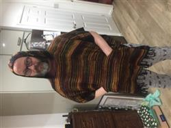 The Hippy Clothing Co. Soft Knit Hooded Poncho Sunset Review