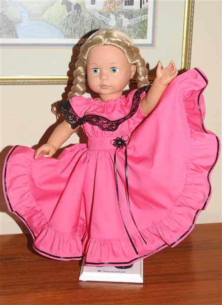 MC verified customer review of Fiesta Folklorico Dress & Blouse 18 Doll Clothes Pattern