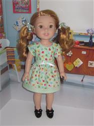 Linda verified customer review of 1960's Contrasting Bands School Dress 14-14.5 Doll Clothes Pattern