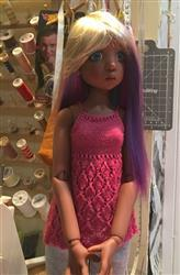 MarieBernadette G. verified customer review of Light & Lacy Knitting Pattern for MSD Ball Jointed Dolls