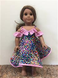 Carol verified customer review of Cold Shoulder Dress 18 Doll Clothes Pattern