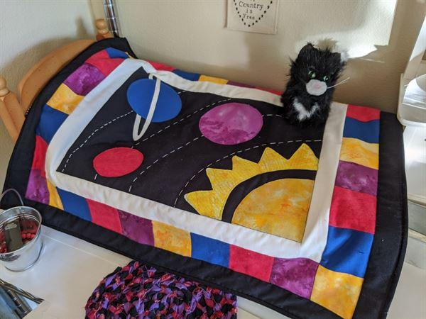 Pixie Faire Orbit 18 Doll Quilt Pattern Review