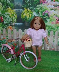 Lynne T. verified customer review of Time Traveler Vintage Blouse & Playsuit Skirt Bundle 18 Doll Clothes Pattern