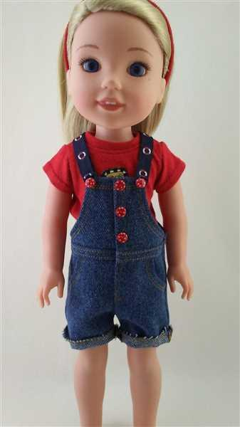 Joanne Grenell verified customer review of Paradise Cove Overalls 14 - 14.5 inch Doll Clothes Pattern