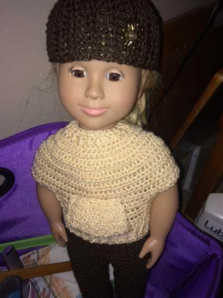 Shirley Badner verified customer review of Riley Pullover 18 Doll Crochet Pattern