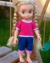 Jenny verified customer review of Simple, Sweet Tee for Disney Animators' Dolls
