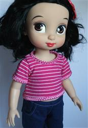 carly gebert verified customer review of Simple, Sweet Tee for Disney Animators' Dolls
