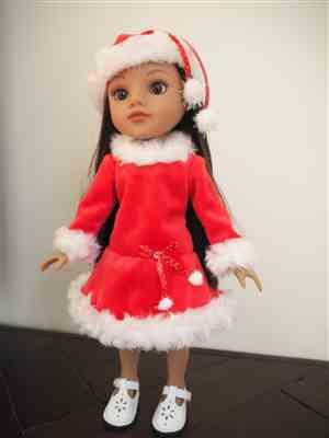 Linda verified customer review of Snow Dancer 14.5 Doll Clothes Pattern