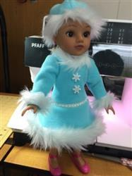 Carolyn T. verified customer review of Snow Dancer 14.5 Doll Clothes Pattern