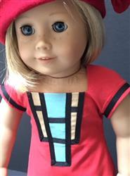 Sewbig verified customer review of Art Deco Dress 18 Doll Clothes Pattern