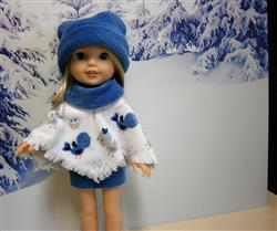Pat P verified customer review of 60s Poncho & Hat 14-14.5 Doll Clothes Pattern