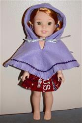 Mary D. verified customer review of 60s Poncho & Hat 14-14.5 Doll Clothes Pattern