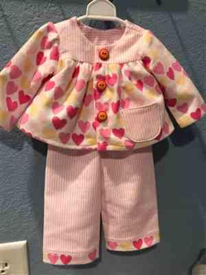 Sherrie Carroll verified customer review of Slumber Party Pajamas 18 Doll Clothes Pattern