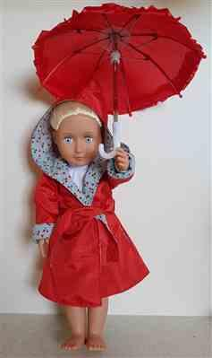 Pixie Faire Rainy Days Are Fun Days 18 Doll Clothes Review