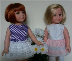 Debbie C. verified customer review of Roebuck Bay Skirt 18 Doll Clothes Pattern