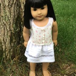 Kathi M. verified customer review of Roebuck Bay Skirt 18 Doll Clothes Pattern