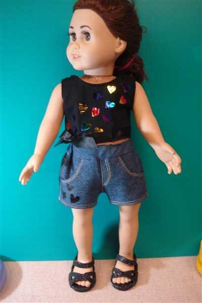 Pixie Faire Jeans Bundle 18 Doll Clothes Pattern Review