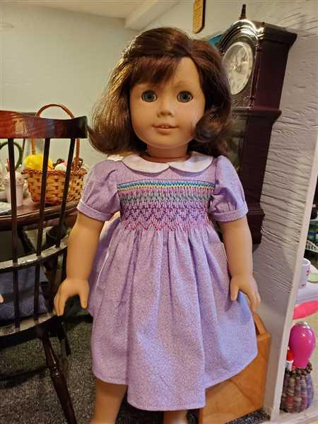 Kris Markovich verified customer review of Smocked Dress 18 Doll Clothes Pattern