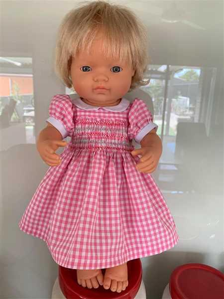 Barbara M. verified customer review of Smocked Dress 18 Doll Clothes Pattern
