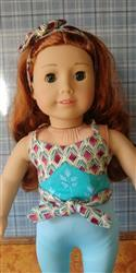 Margaret S. verified customer review of Silver Screen Wrap Top 18 Doll Clothes Pattern