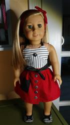 Carol J. verified customer review of Silver Screen Wrap Top 18 Doll Clothes Pattern