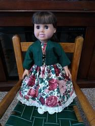 Joyce  verified customer review of Easy as π Jacket 18 Doll Clothes Pattern