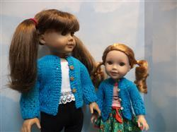 Michele Groberman verified customer review of Karina's Cozy Sweater 18 Doll Knitting Pattern