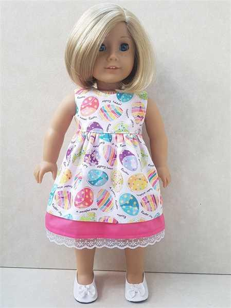 Sheryl verified customer review of Garden Tea Dress 18 Doll Clothes Pattern