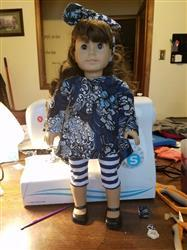 Lea B. verified customer review of Twirly Tunic 18 Doll Clothes Pattern