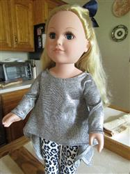 Helen W. verified customer review of Twirly Tunic 18 Doll Clothes Pattern