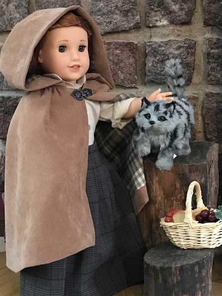 Barbara L. Randall verified customer review of Ivy Cape 18 Doll Clothes