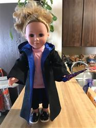 Linda H. verified customer review of Wizard Robe 18 Doll Clothes