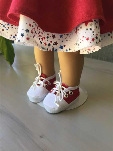 Pixie Faire Sneakers 18 Doll Shoe Pattern Review