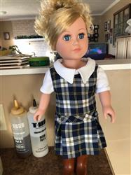 Loretta S. verified customer review of School Days Jumper and Blouse 18 Doll Clothes Pattern