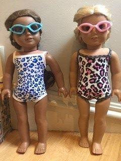 Pixie Faire FREE Swimsuit 18 Doll Clothes Review