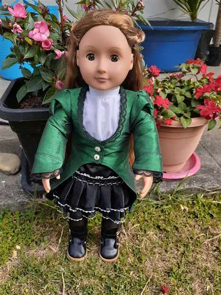 Susan Rafferty verified customer review of Shibuya Jacket 18 Doll Clothes Pattern