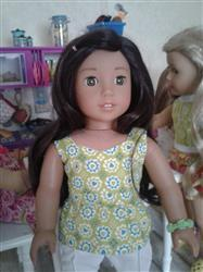 Cristy E. verified customer review of Peplum Top 18 Doll Clothes Pattern