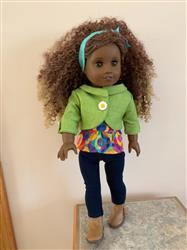 Debby K. verified customer review of Penny Lane Jacket 18 Doll Clothes Pattern
